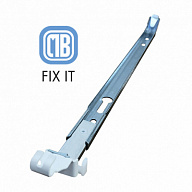 Wall bracket FIX-IT F7V EASY, h = 500 mm, set of 2 pcs., (Italy)